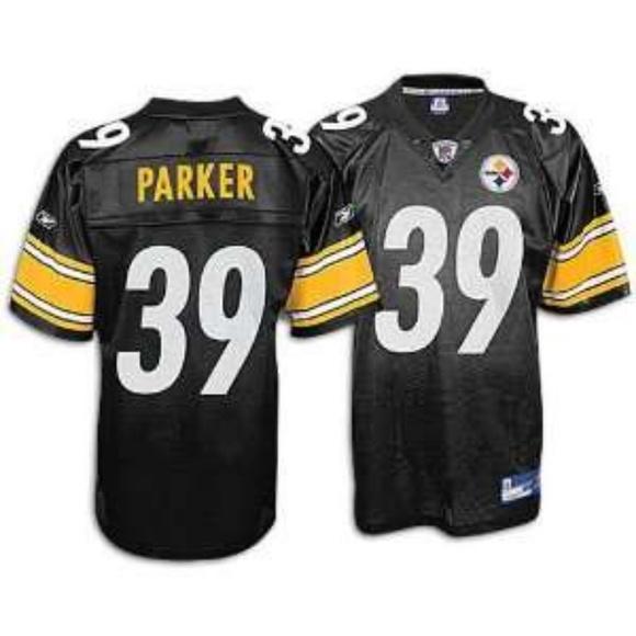 ef7b7b1f55c REEBOK Steelers Willie Parker #39 Jersey. M_5c24106b7386bc9d05dd5640